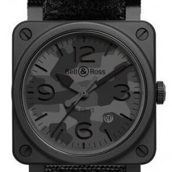 Replica Bell & Ross Aviation BR 03-92 Black Camo Automatic Watch