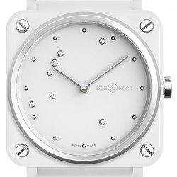 Replica Bell & Ross BR S White Diamond Eagle Ceramic Watch BRS-EW-CE/SCE