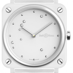 Replica Bell & Ross BR S White Diamond Eagle Ladies Watch BRS-EW-CE/SF