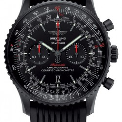 Replica Breitling Navitimer 01 46mm Blacksteel Watch MB012822.BE51.252S.M20DSA.2