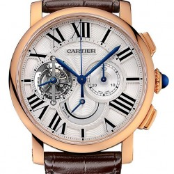 Replica Cartier Rotonde De Cartier Tourbillon Watch W1556245
