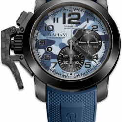 Replica Graham Chronofighter Black Arrow Watch 2CCAU.U02A