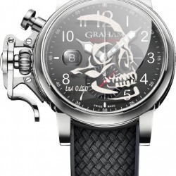 Replica Graham Chronofighter Grand Vintage Watch Skull 2CVDS.B29D