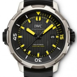 Replica IWC Aquatimer 2000 Diver Titanium 46mm Watch IW358001