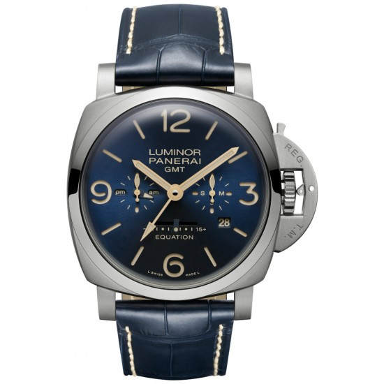 Replica Panerai Luminor 1950 Equation of Time 8 Days GMT Watch PAM00670