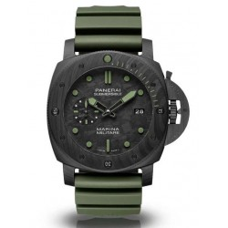 Replica Panerai Luminor Submersible Marina Militare Carbotech Comsubin Watch PAM00961