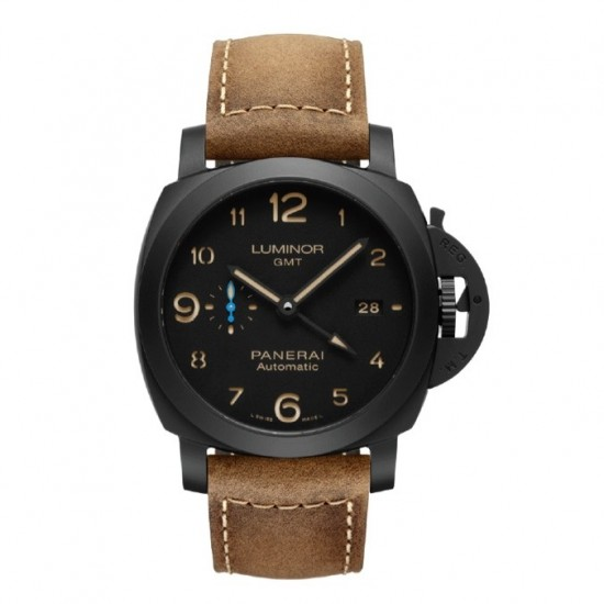 Replica Panerai Luminor 1950 3 Days GMT Ceramica 44mm Watch PAM01441