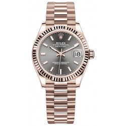 Replica Rolex Datejust 31mm Everose Gold Ladies Watch M278275-0027