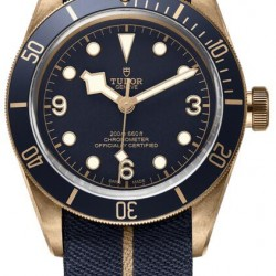 Replica Tudor Heritage Black Bay Bronze Watch 79250bb-0001