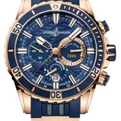 Replica Ulysse Nardin Diver Chronograph Manufacture Watch 1502-151-3/93