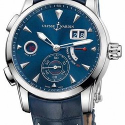 Replica Ulysse Nardin Dual Time Manufacture 42mm Watch 3243-132LE/BQ